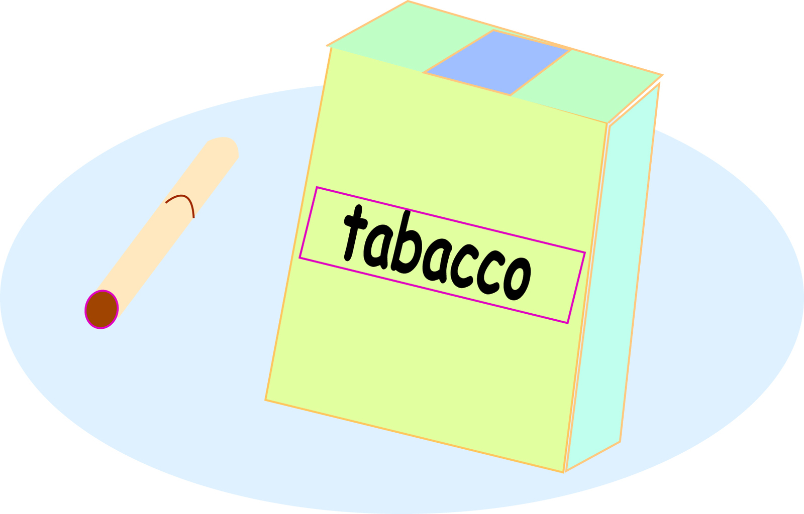 たばこのイラスト