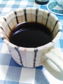 またコーヒー